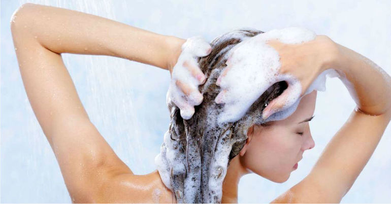 Мытье волос перед стрижкой