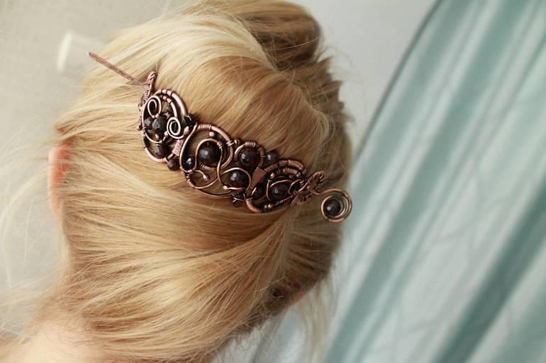 Очень эффектные украшения для волос которые можно сделать самостоятельно