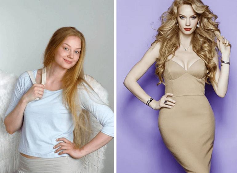 актеры до и после похудения