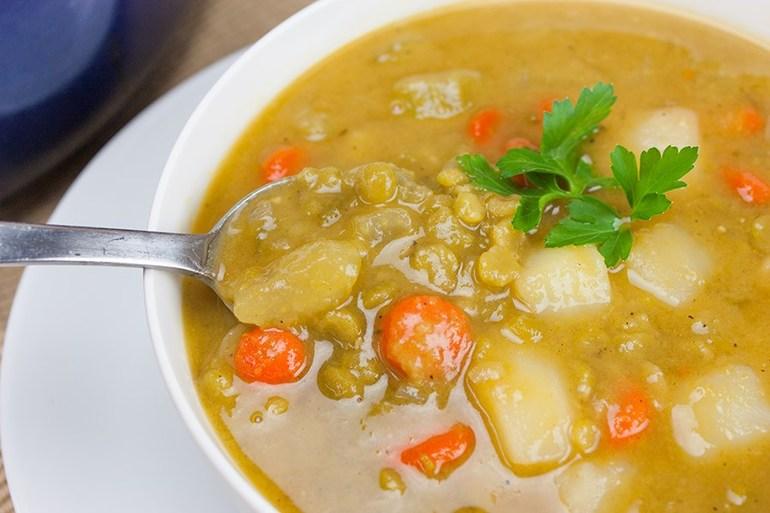Овощные супы полезные