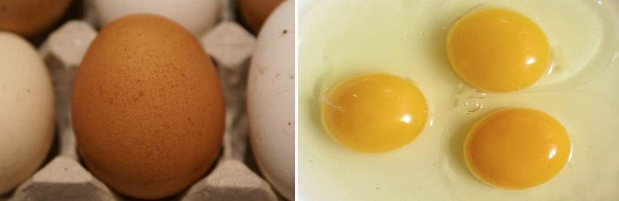 Для большей безопасности рекомендуется использовать домашние, натуральные яйца