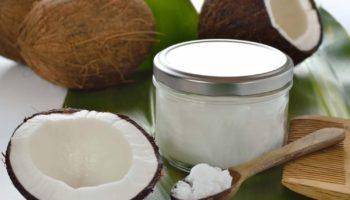 Питательная маска для волос с кокосовым маслом