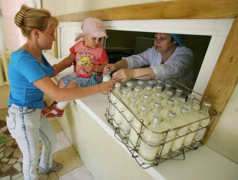 Молочная кухня — социальная поддержка для молодых мам, которая им необходима