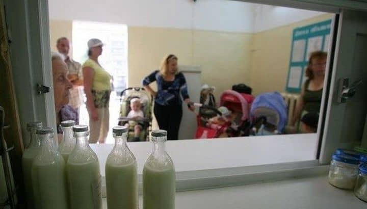 В каждом регионе страны свой список на бесплатную молочную кухню
