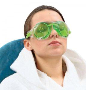 Полезная гелевая маска для глаз: свежесть и красота