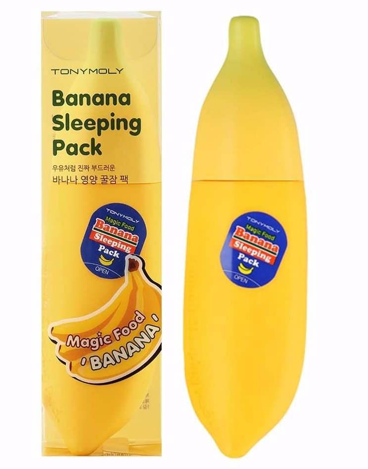 Банановая маска Тони Моли восстанавливает, увлажняет и питает кожу лица
