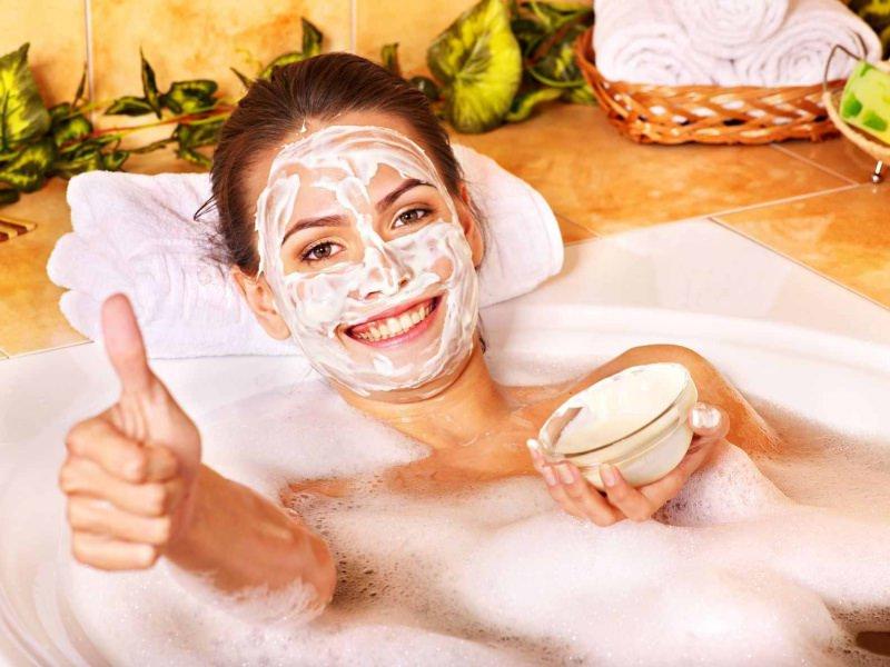 Творожная маска для лица редко вызывает аллергические реакции
