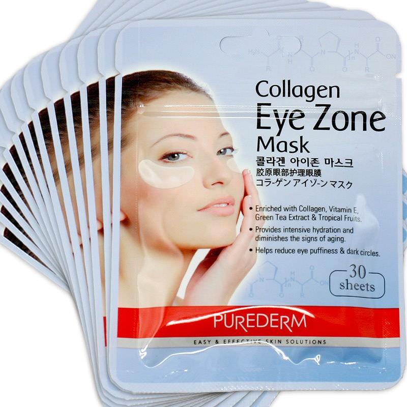 Гидрогелевая маска с коллагеном прекрасно омолаживает, тонизирует и освежает кожу лица