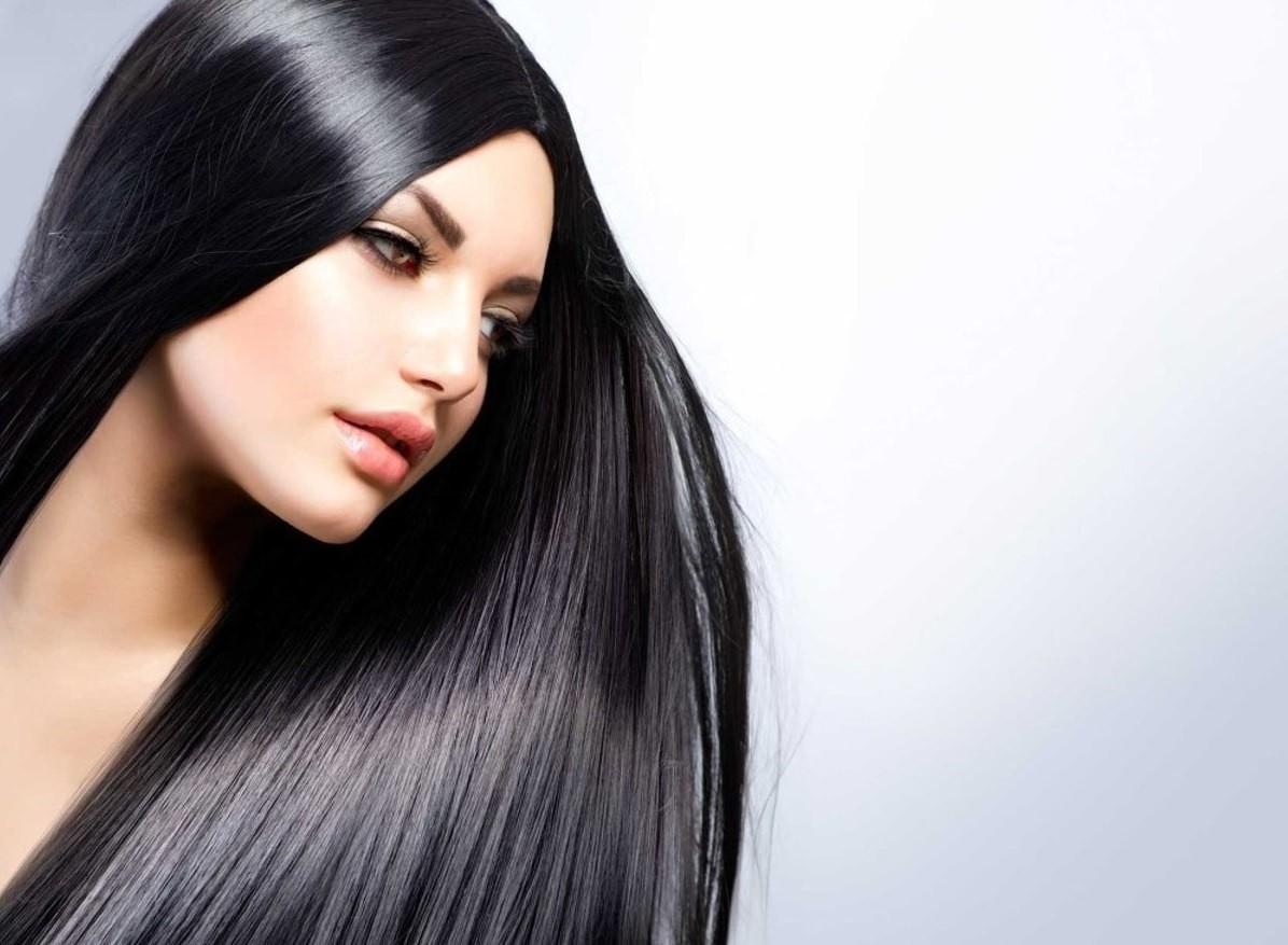 После курсового применения маски с аргановым маслом появляется здоровый блеск волос