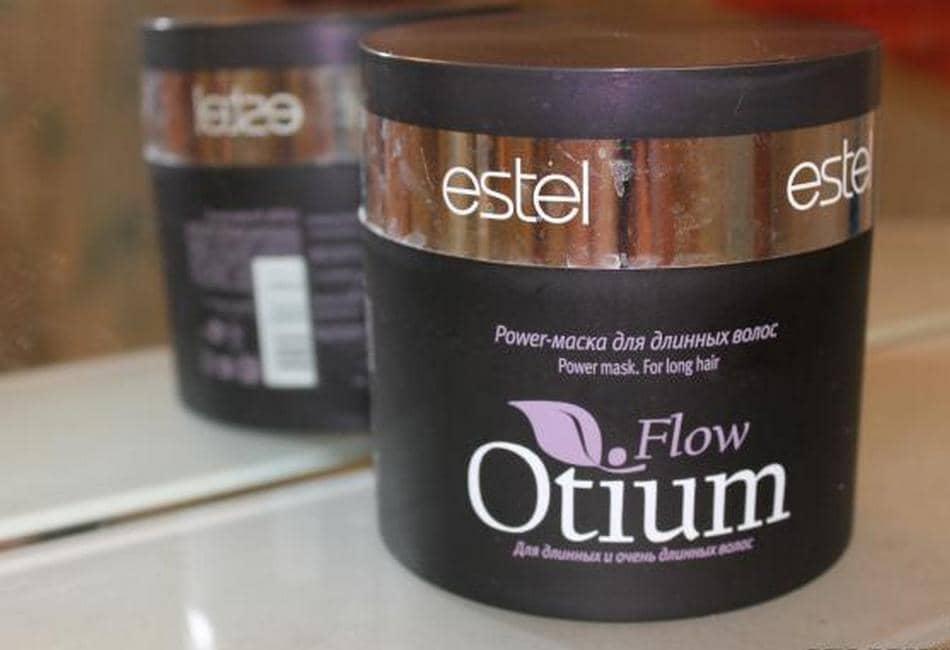 Маска Estel Otium Flow превосходно питает и восстанавливает поврежденные волосы