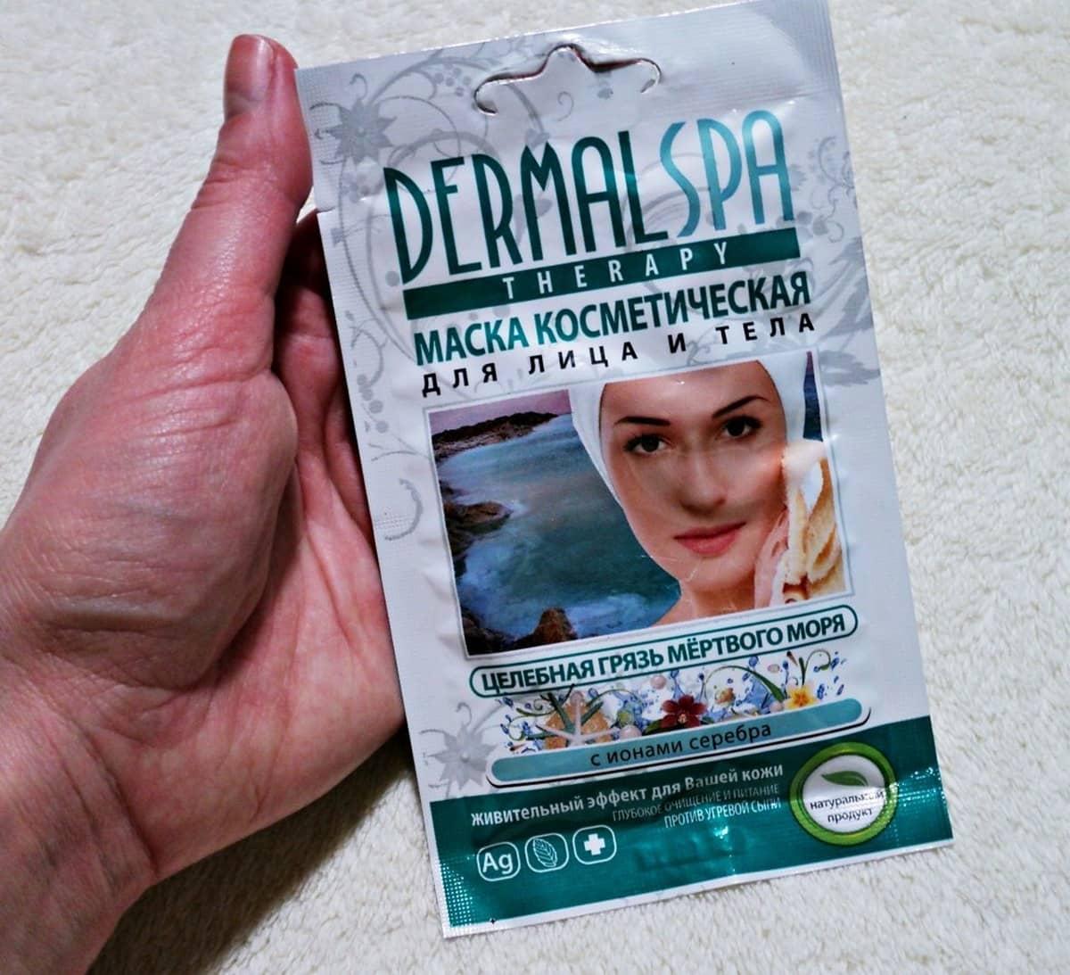 Маска для лица Dermal spa therapy превосходно освежит и подтянет кожу