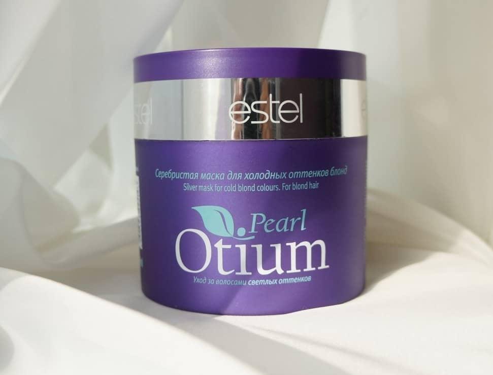 Маска Estel Otium Pearl — лучшее средство по уходу за светлыми волосами