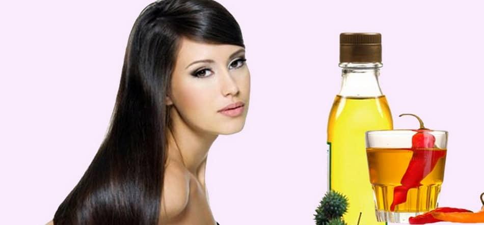 Маска с репейным маслом и настойкой стручкового перца — превосходно сочетающиеся ингредиенты, которые улучшают рост волос