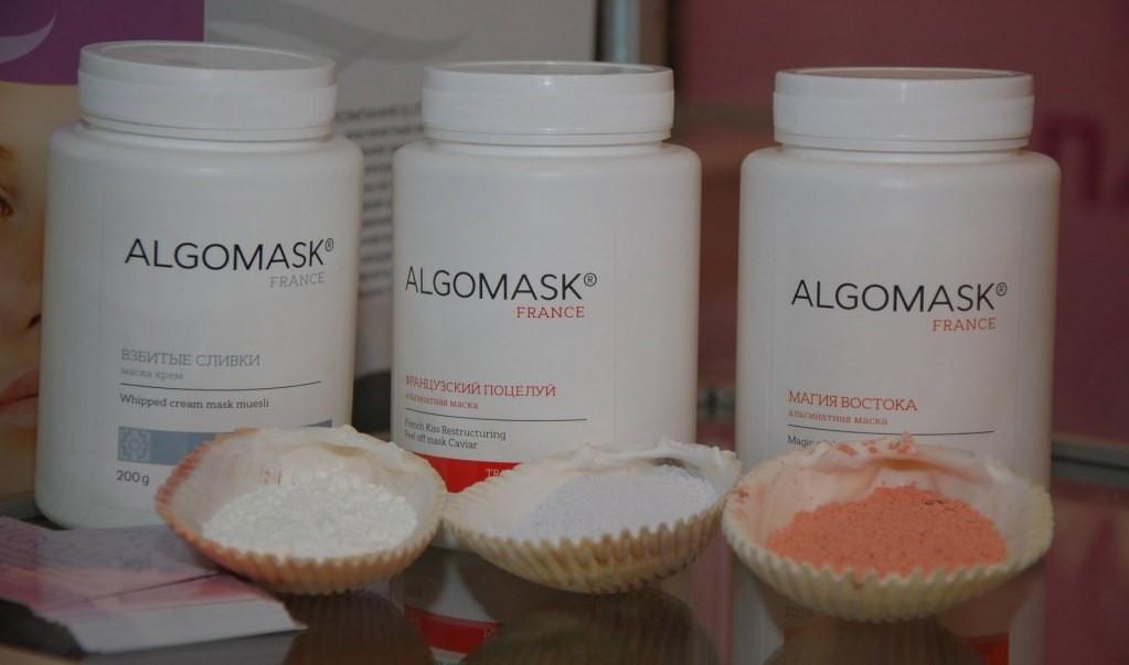 Маска «Algomask» питает, приводит сальные железы к балансу, рекомендуется как глубокое очищение для кожи