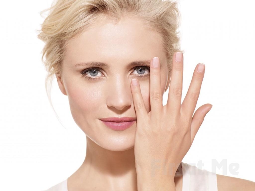 Маска из петрушки прекрасно ухаживает за кожей вокруг глаз и придает ей эластичность
