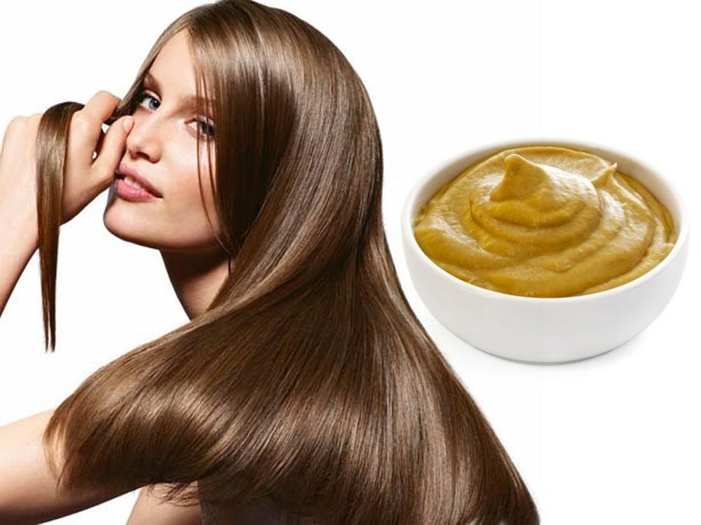 Лимонниково-горчичная маска, приготовленная в домашних условиях, значительно ускоряет рост волос, делая их густыми и крепкими