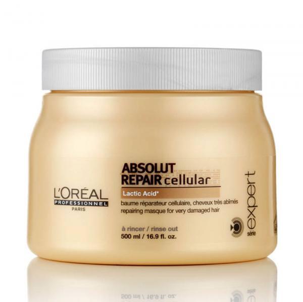Маска «Loreal Absolut Repair Lipidium» деликатно ухаживает и глубоко восстанавливает поврежденные волосы