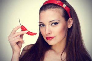Маска для волос с красным перцем: 3 простых рецепта