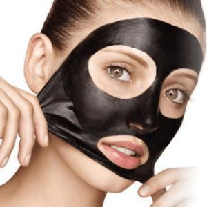 Очищающая маска от черных точек с активированным углем и желатином