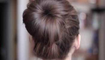 Как сделать красивый пучок из волос на голове своими руками