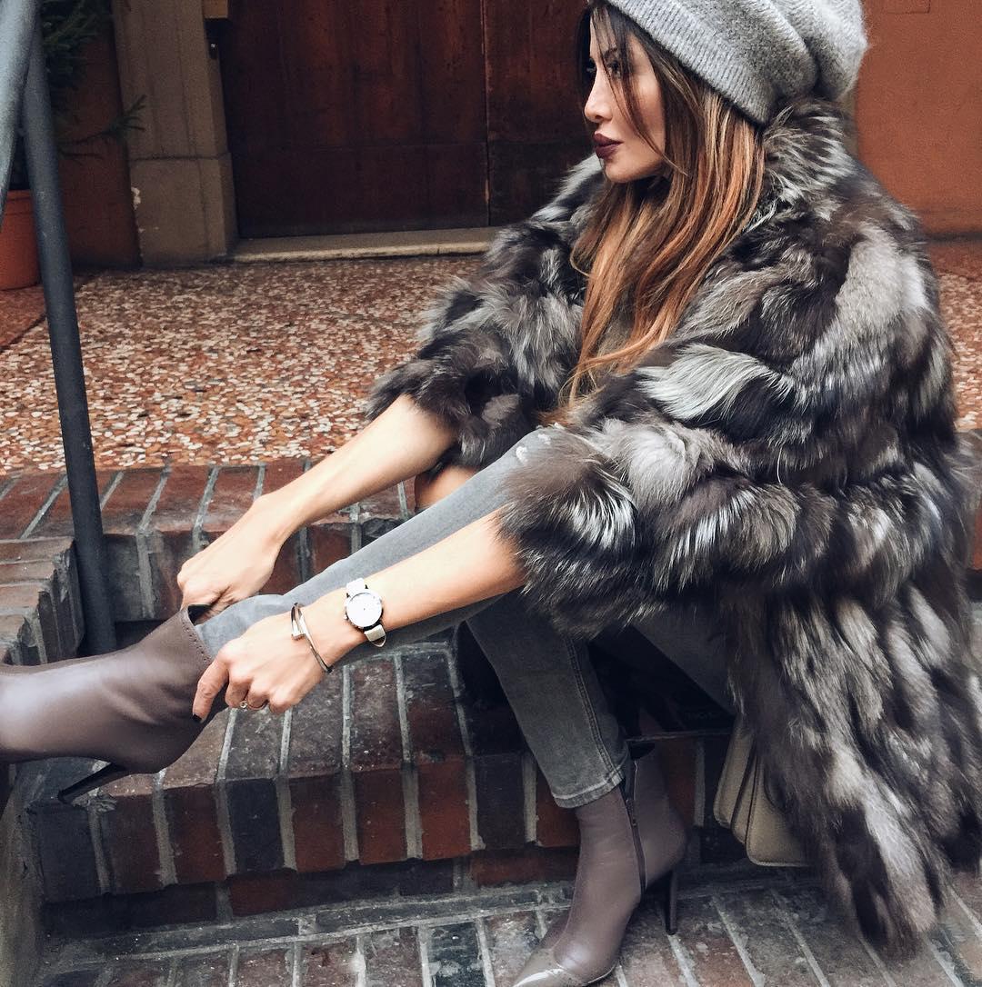 7 теплых, но невероятно элегантных образа для настоящей леди