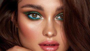5 стильных идей новогоднего макияжа