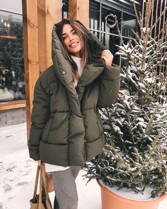 Больше объема: 7 стильных зимних образов, в которых вы не сольетесь с толпой