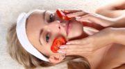 Помидоры: защита и омоложение кожи