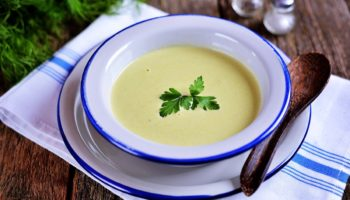 Как приготовить полезный суп-пюре из брокколи со сливками