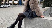 Женственность в большом городе: как вписать плиссированную юбку в теплый гардероб