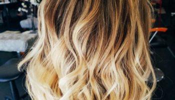 Модное калифорнийское мелирование волос в домашних условиях