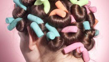 Как правильно самостоятельно накрутить волосы на папильотки