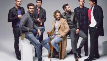 Самые красивые и известные мужчины-модели