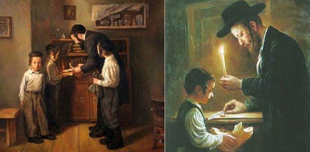 евреи и свечи