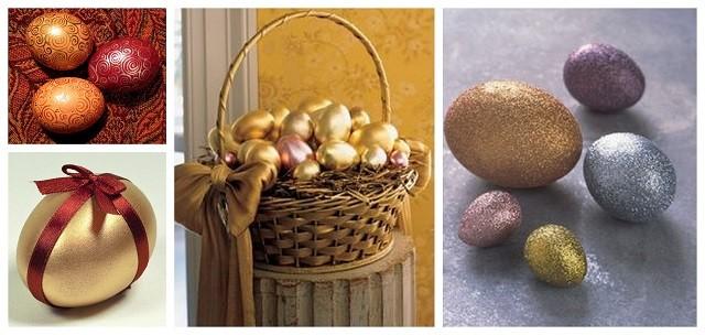 много разных яиц