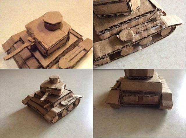 Изготовление танка