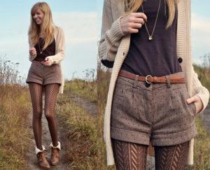 С чем носить шорты с высокой талией и как выбрать стильную модель