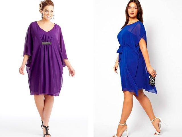 Для полных платье