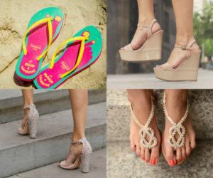 Описание видов моделей пляжной обуви и главные критерии для выбора