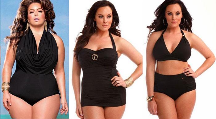 Модные тенденции моделей купальников больших размеров для полных женщин