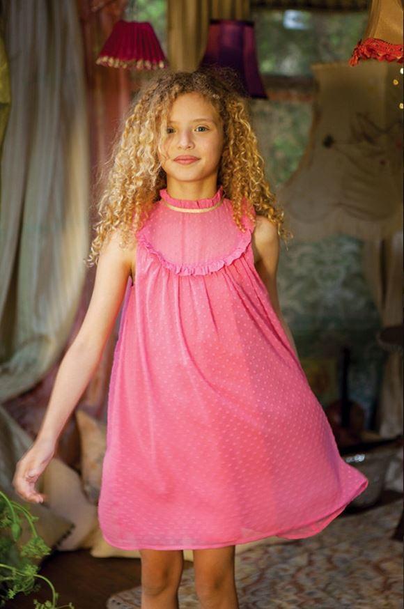 летние платья для девочек Легкое