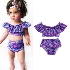 Самые модные детские купальники для девочки в 2021 году