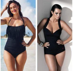 Обзор самых модных моделей черных купальников и лучшие производители