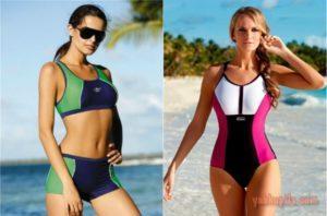 Лучшие и самые удобные модели спортивных купальников, как правильно выбрать