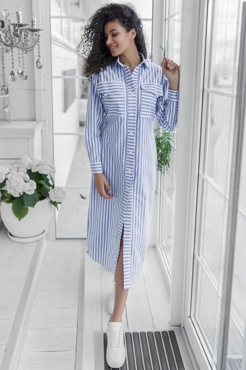 платье рубашка из Лена