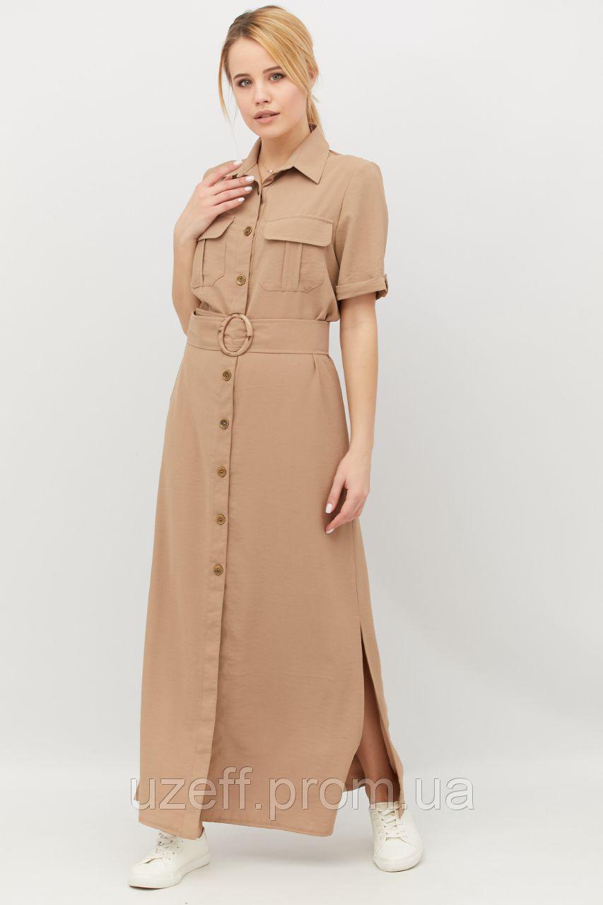 платье рубашка Сафари