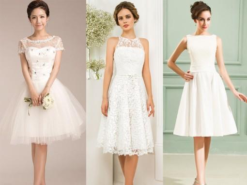 белые платье