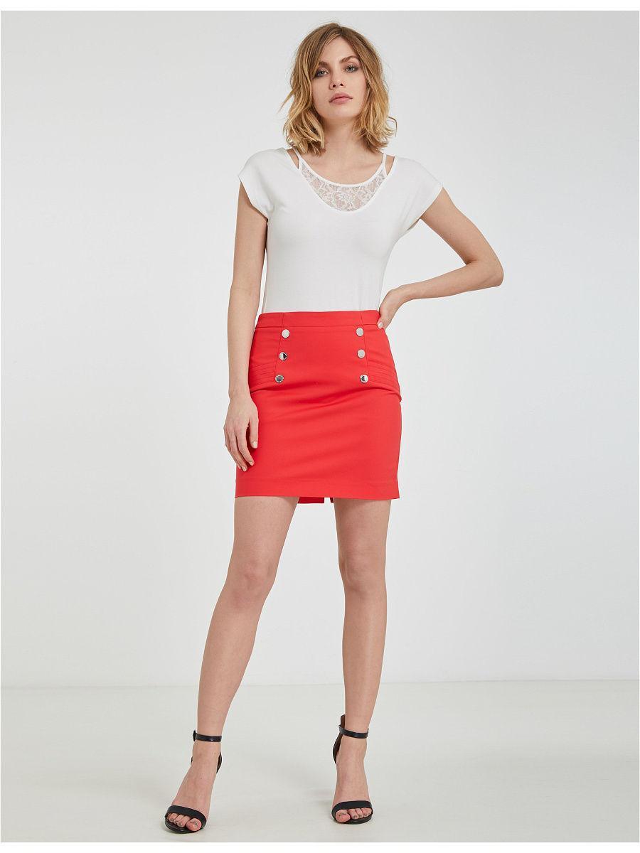 красная юбка Morgan