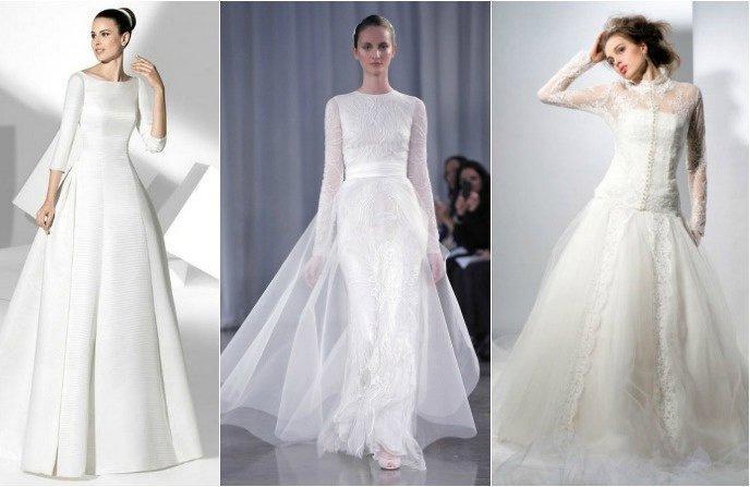 платье для венчание