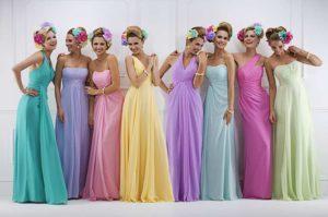 Лучшие фасоны и модные цвета платьев на выпускной, стильные тенденции